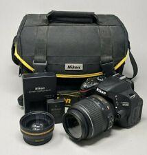 Nikon D5100 16.2MP DSLR Camera - Black (Kit w/ AF-S DX 18-55mm) - 2K Clicks!