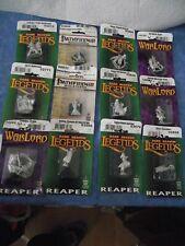 Reaper miniatures assorted