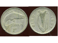 IRLANDE  1 florin 1963