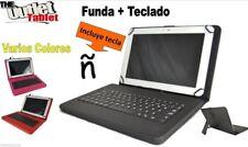 """FUNDA CON TECLADO TABLET CHUWI HI10 10.1"""" funda TECLADO Español extraible"""