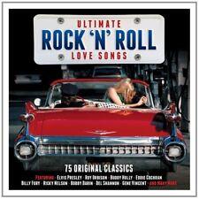 ULTIMATE ROCK'N'ROLL LOVE feat. BUDDY HOLLY, BOBBY DARIN,Cochran Eddie 3 CD NEU