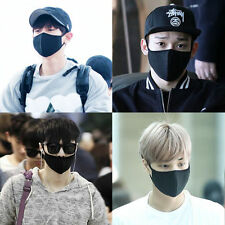 EXO Chanyeol Chen Lay Kai Black KPOP Mouth Mask Cotton mouth-muffle face mask