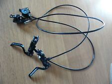Formula T1s hydraulic disc brakes, front & rear, black. used