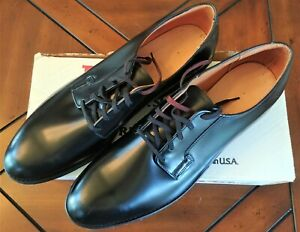 *NEW* Red Wing Shoes Black Leather Lace-up Oxford Style SIZE 12