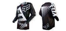 Long Fox T shirt Tee Cycling Jersey Motor Cross Racing Men's T Shirt Long Sleeve