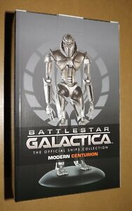 Battlestar Galactica Cylon Centurion Figurine Metallic Resin 20cm New & Boxed