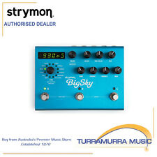 Strymon BigSky - Reverb Effects Pedal - Big Sky - Guitar FX