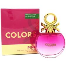 Benetton Colors De Benetton Pink Women Eau De Toilette 2.7 oz ~ 75 ml Spray