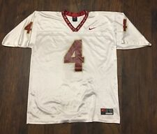 Vtg Florida State Seminoles Nike Team Football Jersey #4 Dalvin Cook Size Lg