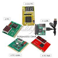 2 / 3 in1 / 4 Digit PCI PCI-E PC Analyzer Analysis Diagnostic Card USB POST Card