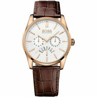 HUGO BOSS® watch Rose Gold Mens Heritage Chronograph HB 1513125