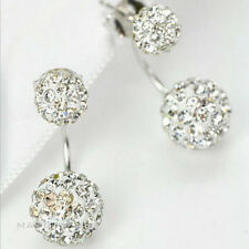 Fashion Jewelry 1 Pair Women Lady Elegant Rhinestone Ear Stud Earrings USA