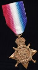British Medal 1914 STAR Indian Army VERY RARE to Regiment 108th INFANTRY