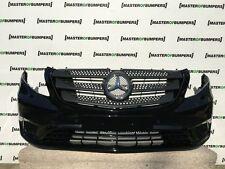 Mercedes Clase V W447 Vito 2014 - 2015 PARACHOQUES DELANTERO NEGRO TOTALMENTE COMPLETO [E37]