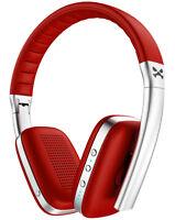 Wireless Bluetooth Headphones   Ghostek RAPTURE Headset Soft Leather Earcups Mic