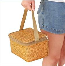 Waterproof Thermal Cooler Insulated Lunch Box Portable Tote Storage Picnic Bag.