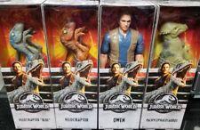"Mattel Jurassic World 2 Fallen Kingdom 12"" OWEN VELOCIRAPTOR BLUE Figure INSTOCK"