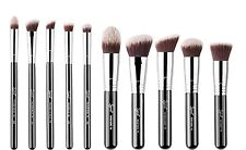 Genuine sigma 10 Synthetic kabuki brush brushes set kit  (Sigmax Essential Kit)