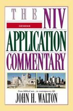 The NIV Application Commentary: Genesis by John H. Walton (2001, Hardcover)