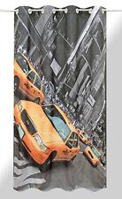 2-er Pack Ösenschal Fotodruck New York Taxi - Motivdruck
