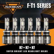 6x AUXBEAM H7 70W LED Headlight Fog Bulbs 6500K+Canbus Decoder for Mercedes-Benz