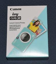 CANON IVY CLIQ 2 CV-223-MTQ INSTANT CAMERA PRINTER