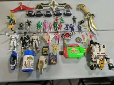 Vintage 1990s Power Rangers Mighty Morphin Lot