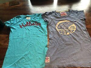 Hollister Ladies Girls 2 T-Shirt Tops Size S