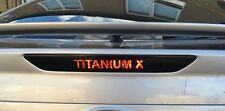 Ford Mondeo mk4 Name Logo 3rd Brake Light Viny Car Sticker Titanium Zetec S