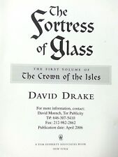 The Fortress of Glass by David Drake ADVANCE UNCORRECTED PROOF Free Shipping