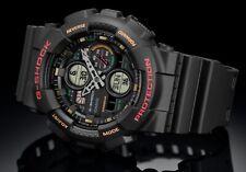Casio G-Shock *GA140-1A4 Color Dial Black Resin Watch for Men Ivanandsophia