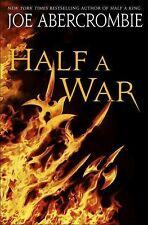 Half A War by Joe Abercrombie 2015 Hardcover Like New