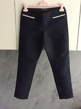 TER ET BANTINE PANTALONI DONNA TG. 42 COLORE BLU IN POLIESTERE