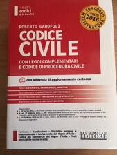 Codice Civile - Concorso Magistratura - 2016 - NEL DIRITTO EDITORE