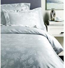 Sferra DENINA Queen Duvet & Shams 5 PC Set ICE Egyptian Cotton Sateen Floral New