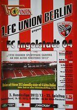 Programm 2012/13 Union Berlin - FC Ingolstadt