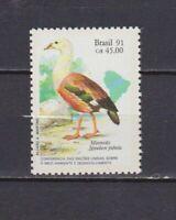 s19259) BRASILE BRAZIL 1991 MNH** Nuovo** UNCED 1v bird