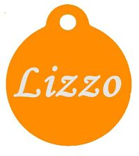 Custom Engraved Personalized Pet Id Tag (dog tag, cat tag) Golden Pendant