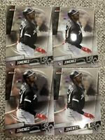 2019 TOPPS FINEST ELOY JIMENEZ 4 ROOKIE CARD LOT - CHICAGO WHITE SOX #18