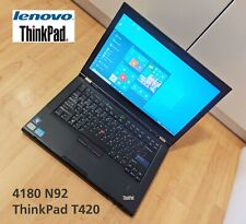 Lenovo ThinkPad T420 - 4180 N92, Intel Core i7 2.8 GHz, 500GB HDD, Win 10 Pro EN