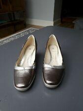 K Metalic Wedge Shoes Size 5