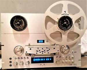 Pioneer RT-909 4-Track 2-Channel Auto Reverse Reel – Reel Tape Deck (For Repair)