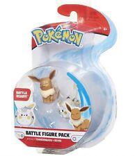 Pokemon Battle Action Figure - Eevee & Togedemaru - Brand New