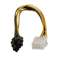 12 inches 12v EPS 8 Pin Male to Female Internal Power P4 ATX Extension Cable