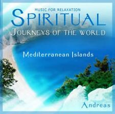 SPIRITUAL JOURNEYS OF THE WORLD - MEDITERRANEAN ISLANDS - NEW AGE CD