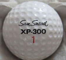 (1) SAM SNEAD SIGNATURE LOGO GOLF BALL ( WILSON XP-300 CIR 1968) #1