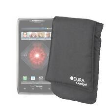 Premium Hülle für Motorola RAZR, RAZR Maxx, X2 & V3 Handy, schwarz