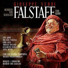 CD Verdi Falstaff Herbert De Karajan, Wiener Philharmoniker 2CDs