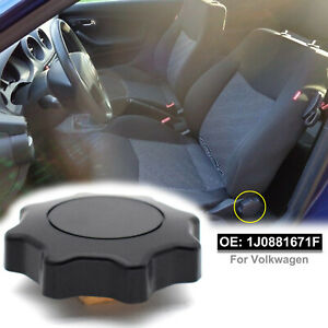 Black Seat Adjustment Recliner Knob Handle For VW Polo Golf Beetle Passat Jetta