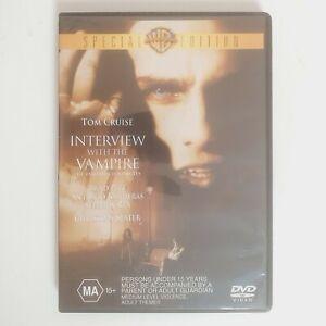 Interview With A Vampire Movie DVD Region 4 AUS Free Postage Tom Cruise